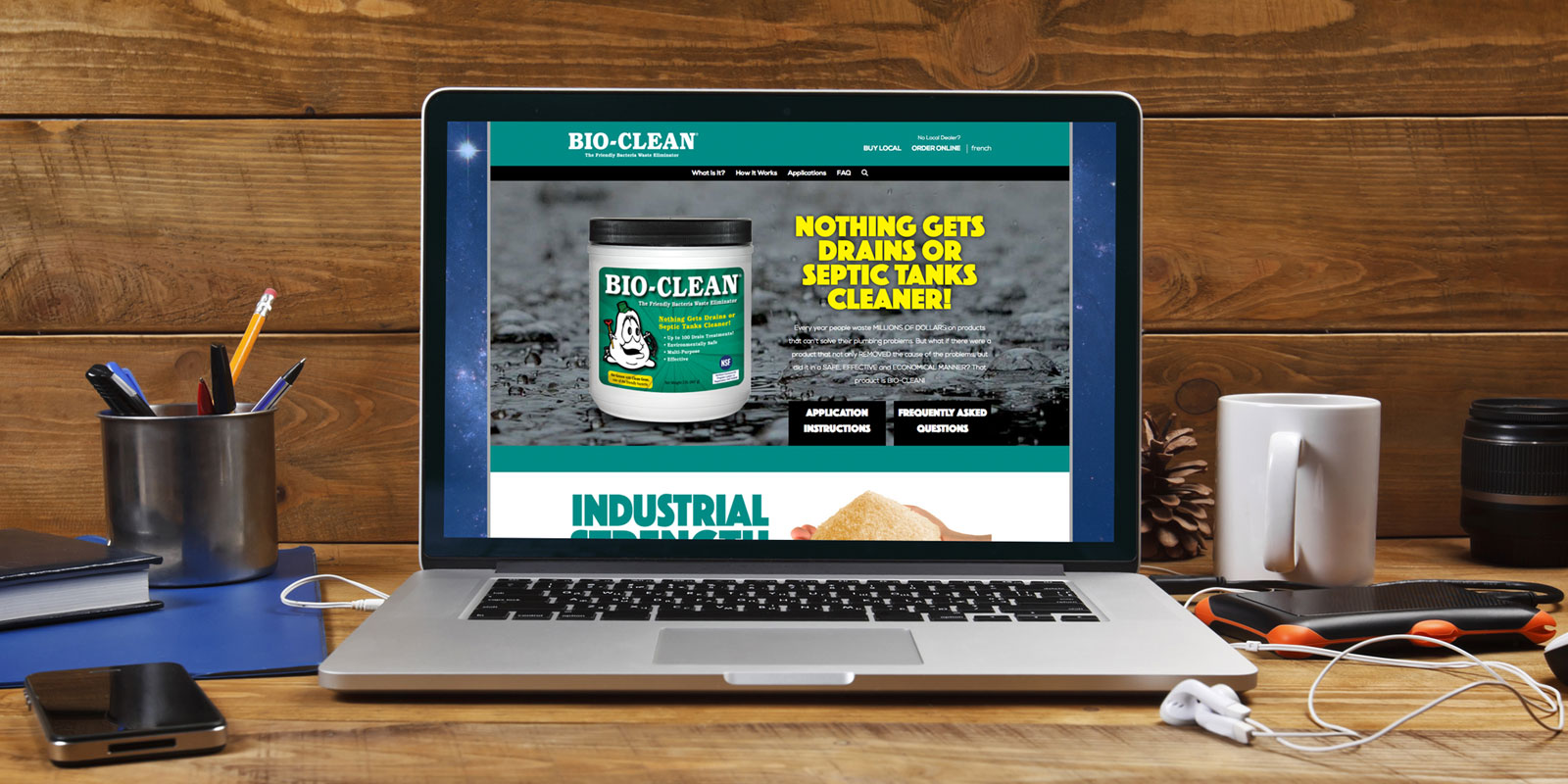 Bio-Clean Website