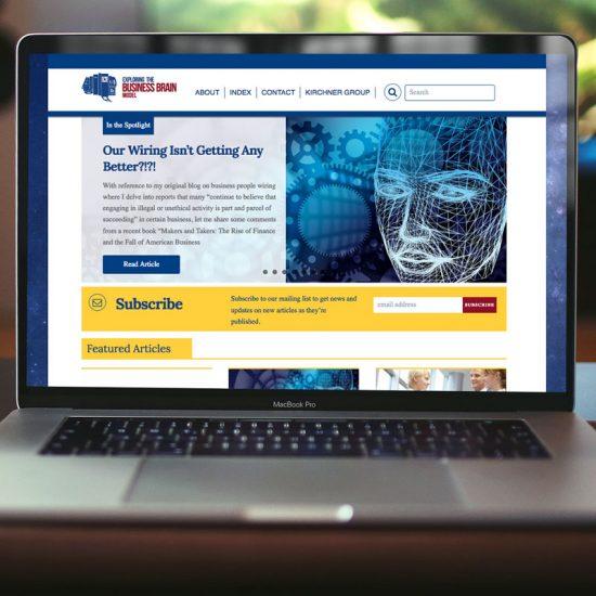 Exploring the Business Brain Model Website