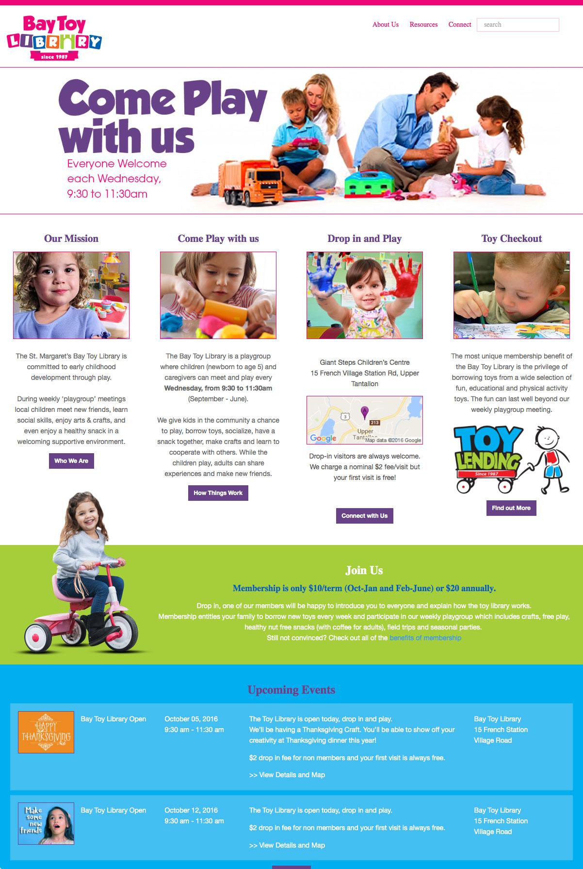 SMBTL Front Page